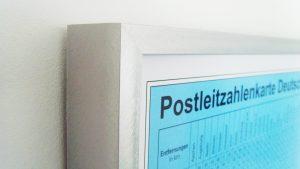 Postleitzahlkarte