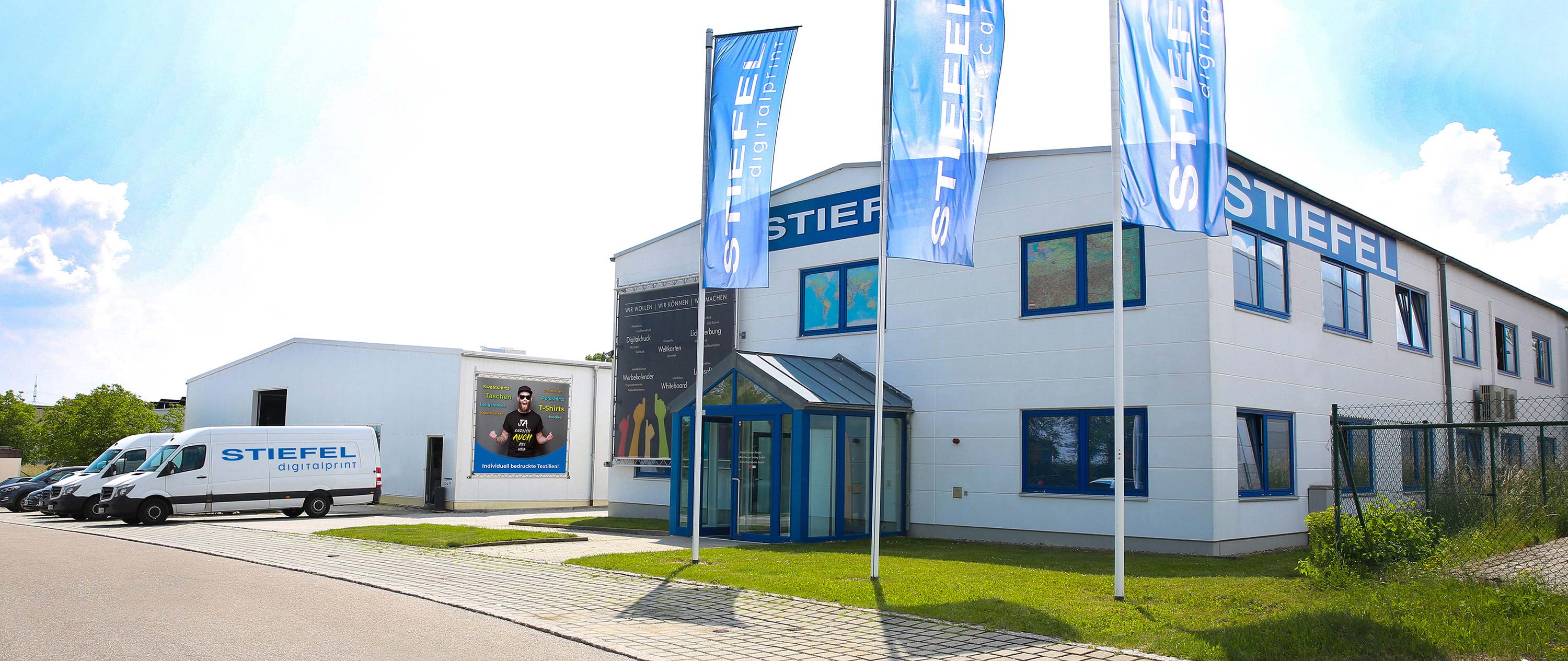 Firmensitz der Stiefel Group in Lenting bei Ingolstadt